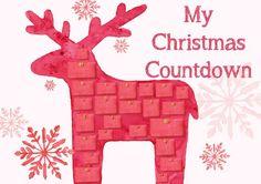 Advent Activity Reindeer Poster