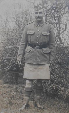 Pte in the Argyll and Sutherland Highlanders
