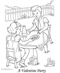 Free, printable kid Valentine's Day coloring pages are fun for Valentines. Free Kids Coloring Pages, Barbie Coloring Pages, Heart Coloring Pages, Coloring Pages To Print, Coloring Pages For Kids, Coloring Books, Colouring, Printable Valentines Coloring Pages, Valentines Day Coloring Page
