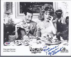 Miss Yvonne Pee Wee's Playhouse Signed Promo Photo PSA | eBay