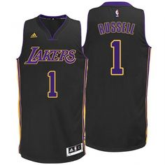 8f5a2723a26b Mens Los Angeles Lakers D Angelo Russell New Swingman Hollywood Nights  Jersey