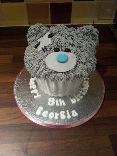 me to you bear giant cupcake - Cake by Lou Lou's Cakes