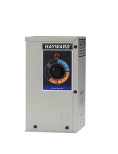 Hayward electric spa heaters contain all of the sophisticated features and capabilities of heaters twice their size. The electric heaters fit into compact spaces even under spa skirts or steps. Like ...