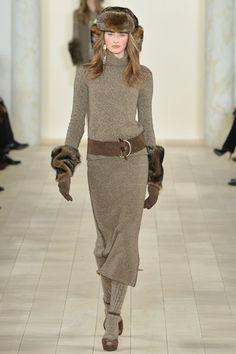 Guarda la sfilata di moda Ralph Lauren a New York e scopri la collezione di abiti e accessori per la stagione Collezioni Autunno Inverno 2015-16.