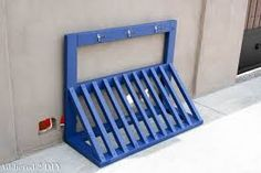 Image result for homemade bike rack