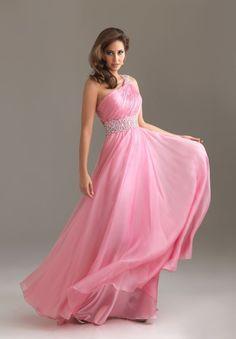 Pink prom dress #pink#dress