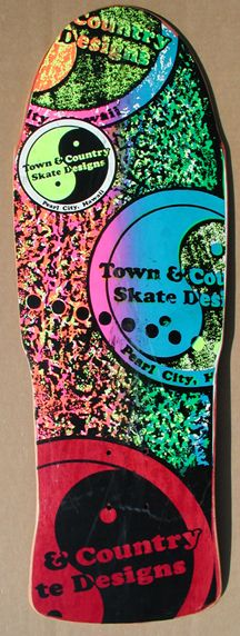 Town and Country Skateboard Old School Skateboards, Vintage Skateboards, Skateboard Design, Skateboard Decks, Town And Country Surf, Longboard Cruiser, All Ride, Skate And Destroy, Surf Design