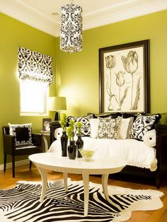 Decorating, Green Paint Colors For Family Room With Oval White Table And Black Chairs Using Unique Ceiling Lighting Ideas: How to Choose Paint Colors For Family Room