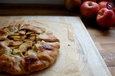 Easy peasy apple pie to make with kids.  I use shop-bought, pre-rolled pastry.