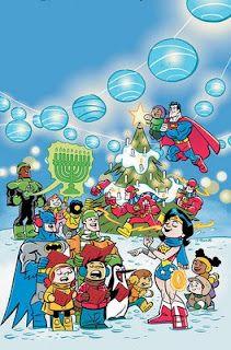 DC Comics Christmas Cover