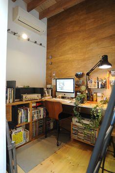 Home Office Design Inspiration Room Interior, Interior Design Living Room, Living Room Designs, Interior Decorating, Home Office Setup, Home Office Design, House Design, Workspace Design, Fashion Room