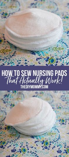 Baby Sewing Projects, Cool Diy Projects, Sewing Ideas, Sewing Patterns, Diy Clothes Life Hacks, Nursing Pads, Cloth Pads, Love Sewing, Diy Home Crafts
