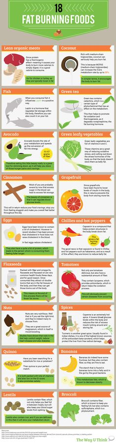 What foods help you burn fat? Check out these 19 - TWUT