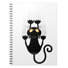 Custom Notebooks, Falling Down, Vibrant, Snoopy, Lettering, Cartoon, Black And White, Cats, Funny