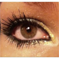 Prom eye makeup done by myself :)