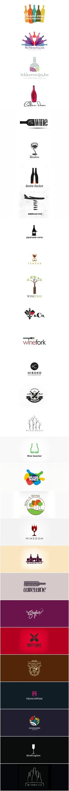 logos of wine #logo #wine