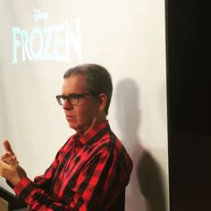 #ChrisBuck, Director of #Disney's #Frozen gave stopped by to give our students an amazing presentation!