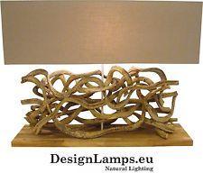 Tischleuchte Treibholz  Entangled  * Driftwood Lamp * Tischlampe Naturholz