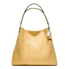 COACH Madison Leather Phoebe Shoulder Bag--LOVE this bag but what color-grey, blue, black? Best Handbags, Cheap Handbags, Prada Handbags, Coach Handbags, Coach Purses, Purses And Bags, Handbags Online, Purses Online, Ladies Handbags