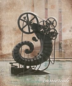 Stravinsky Fountain with the sculpture from Jean Tinguely   Centre Pompidou Paris  #smoothestdayever