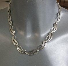 Alt selten nostalgisch 925 Silber Collier von Schmuckbaron auf Etsy
