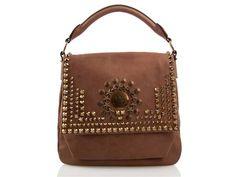 Givenchy stud embellished leather bag1