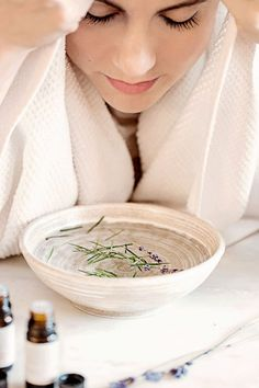 A DIY Facial Steam for Every Skin Type