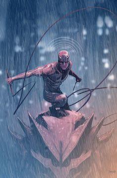 brianmichaelbendis: Daredevil by Dan Mora