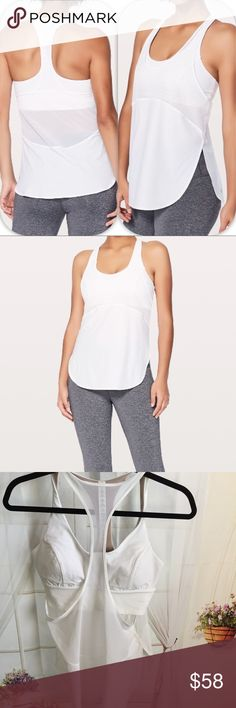 NWT WHITE LULULEMON TWIST AROUND TANK - - Size 8 Brand: Lululemon Athletica twist around tank                  Condition: New with tag || Size 8 || White       📌NO  TRADES  🛑NO LOWBALL OFFERS  ⛔️NO RUDE COMMENTS  🚷NO MODELING  ☀️Please don't discuss prices in the comment box. Make a reasonable offer and I'll either counter, accept or decline.   I will try to respond to all inquiries in a timely manner. Please check out the rest of my closet, I have various brands. Some new with tag…