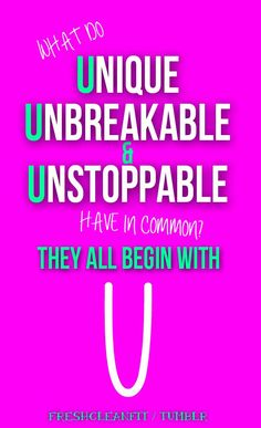 Be U!