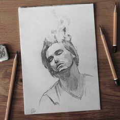Sketchbook    #face #portrait #sketch #sketching #sketchbook #paper #pencil #draw #drawing #art #pencilsketch #pencildrawing #pencilart #miro_z #arts_help #beautifulbizarre #drawingthesoul #artcomplex #artist_4_shoutout #onyxkawai