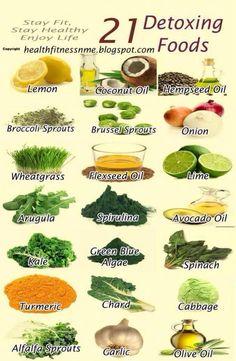 21 aliments purifiants