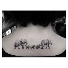 Tattoo, Elefant