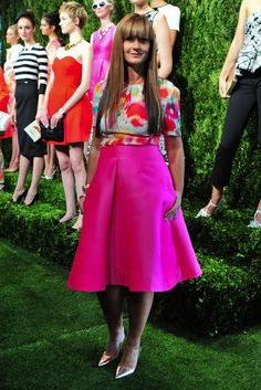 Pink Champagne: Kate Spade for Spring: NYFW