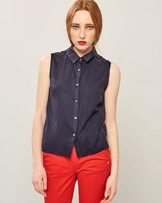 ΠΟΥΚΑΜΙΣΟ ΑΜΑΝΙΚΟ Vest, Spring Summer, Jackets, Collection, Tops, Dresses, Fashion, Down Jackets, Vestidos