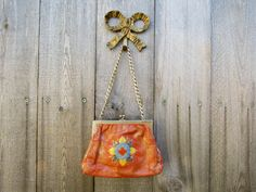 Vintage Purse Leather Bag Free People Style by kuku4vintage