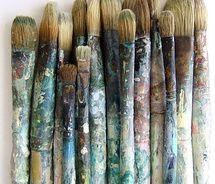 Inspiratiebeeld Colours and Textures/Kleuren en Texturen Foto Art, Pics Art, Paint Brushes, Makeup Brushes, Belle Photo, Art Studios, Black And White Photography, Artsy Fartsy, Color Splash