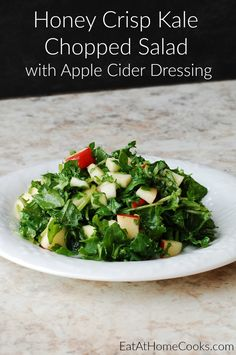 Do you ever do something that just makes you so pleased with yourself? That's how I feel about creating this salad!  To me, this Honey Crisp Kale Chopped Salad couldn't get any better. I hope you feel the same way. I do hope you'll go to your kitchen and give it a try! This …