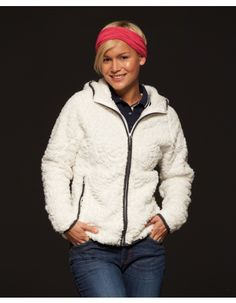 Pextex.cz - Dámská fleecová bunda James & Nicholson Ladies' Structure Fleece Hoody