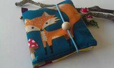 Buchhüllen - Pixibuchhülle Fuchs - ein Designerstück von Wundertasche-by-Ju bei DaWanda