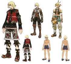 Shulk Concepts