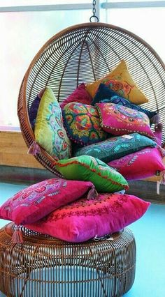 @pinterest.colour — Wonderful Coloured Cushions pinterestcolour #pincolours