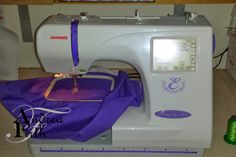 Obsessive Creativeness: Sewing Machine Review - Janome Memory Craft 300E Embroidery Machine