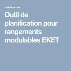 Outil de planification pour rangements modulables EKET