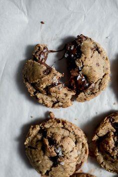Spelt Dark Chocolate Chunk Cookies