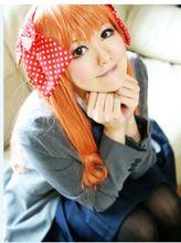 Chiyo Sakura cosplay from Gekkan Shoujo Nozaki-kun Sakura Cosplay, Chibi Couple, Gekkan Shoujo Nozaki Kun, Kawaii Chibi, Manga, School Uniform, Cosplay Costumes, Anime, Punk