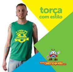 Camiseta - A Copa é Nossa : Lançamento Camiseta - A Copa é Nossa=>  http://www.camisetasdahora.com/p-4-175-4140/Camiseta---A-Copa-e-Nossa | camisetasdahora