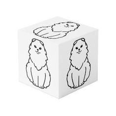 Highland Fold Cat Cartoon Cube