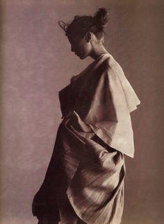 "texturism: "" drape. by gilles bensimon for elle 3/98 """