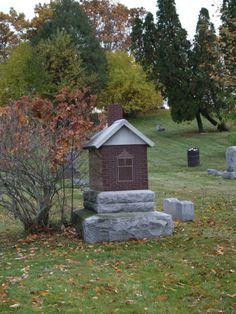 house headstone